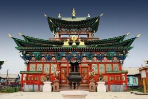 templo buddista ulan-ude