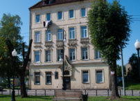 Chernyakhovsk (Kaliningrad region) - The house where Napoleon stayed in 1812