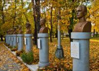 Gusev (Kaliningrad region) - Alley of Fame (Walk of Fame)