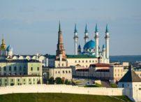 Kazan - Kazan Kremlin architecturl complex